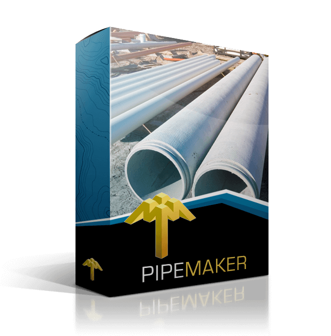 pipe maker pipeline design software